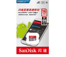 16GB SanDisk Micro SD SDHC Ultra 98MB/s Class 10 Memory Card TF Card For Phone