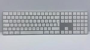 Magic Keyboard with Numeric Keypad - German - MQ052D/A - SILVER - A1843
