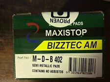 Holden Barina Suzuki Swift Front Brake Pads DB402 MAXISTOP