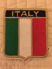 Italy Flag Shield Patch, Country Flag & Pride Patches