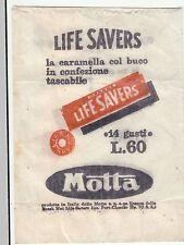 BUSTINA DA TABACCAIO - LIFE SAVERS - LE CARAMELLE CON IL BUCO ...  MOTTA
