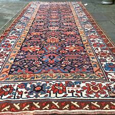"""Magnificent Rare Bakhtiari Runner Rug, signed Collectible 4'2"""" x 9'8"""""""