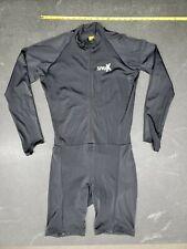 Sparx Men Elite Aero Long Sleeve Triathlon Suit Skinsuit Team Tri Suit 2XL