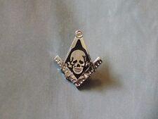 Masonic Lapel Tac Pin Cut Out Square Compass  NEW!