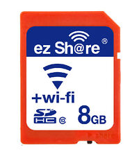 Wi-Fi Wireless SDHC 8GB Class 10 SD Memory Card for eye fi transcend ez Share