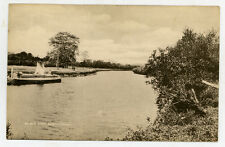 c1925 -  Photo postcard - Brotherton, River Aire  - near Leeds, by B. Terry