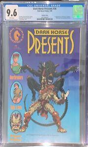 Dark Horse Presents #36 Variant CGC 9.6 WP 1990 (1st Aliens vs. Predator)