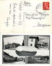 OCCUPAZIONI - RAKEK 5.9.1941 - 20c(247) IMPERIALE su cartolina per Bergamo