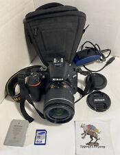 Kit Fotocamera Nikon D5600 + zoom Nikon AFP 18 55 f 3.5 5.6 G DX VR macchina