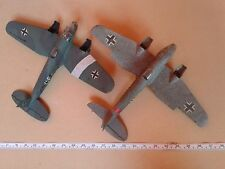 JOB LOT RARE 1/64 SCALE LINDBERG HEINKEL HE111'S FOR SPARES / REPAIR / DIORAMA
