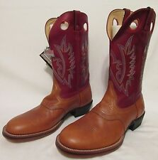 Rocky Big Mountain Test Cowboy Rodeo Work Boots Rugged Outdoor Shoes Men 11.5 W