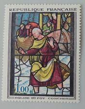 France année 1963 1377 neuf luxe ** tableau Musée imaginaire Vitrail à Conches