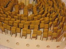 220pf 200 volt capacitors, new, quantity of 100