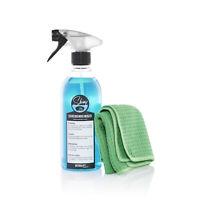 Detailify Scheibenreiniger Shiny Glasreiniger Set + Waffeltuch Autoscheibe Spray