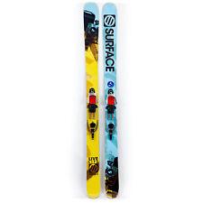 188 Surface Live Life Tele Skis 2011 Free Pivot Telemark Bindings and Skins USED