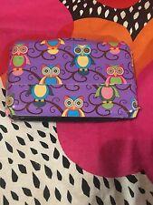 Multi Colored Owl Duct Tape Aluminum Wallet