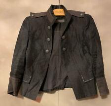 Zara Grey Military Style Jacket - Size Small