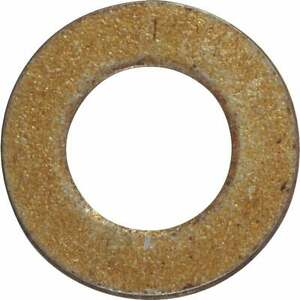 Hillman 1/2 In. Hardened Steel Yellow Dichromate Flat Washer (50 Ct.) 280305
