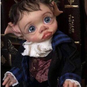 17'' Fresh DIY Vinyl Real Lifelike TINKY FAIRY DOLL Reborn Baby Doll Blank Kit