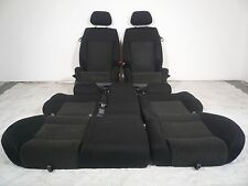 MK4 VW JETTA GOLF 00 01 02 03 04 05 BLACK BIG BOLSTER GTI SEATS SET FRONT REAR