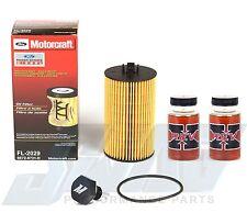 4.5L LCF Powerstroke Diesel OEM Motorcraft Oil Filter Magnetic Drain Plug REVX