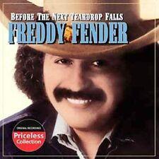 Freddy Fender Before the Next Teardrop Falls CD