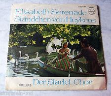 Starlet-Chor - Elisabeth-Serenade . Philips 318677  TOP