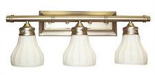 Antique Brass 3 Light Bath Wall Fixture