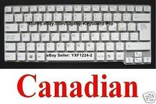 SONY VPCCW VPCCW13FD VPCCW17FD VPCCW21FD VPCCW23FD Keyboard - Canadian CA White