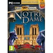 "HIDDEN MYSTERIES: NOTRE DAME (PC CD) "" NEW & SEALED"""