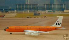 Braniff B-707-327C, Orange Color, Gemini Jets, 1:400