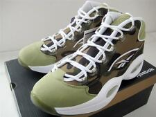 A BATHING APE 1ST CAMO REEBOK QUESTION MID BAPE BRAND NEW US9 GREEN MITA