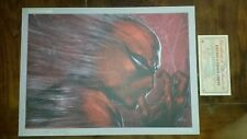 LITHOGRAPHIE SPIDER-MAN - PANINI COMICS