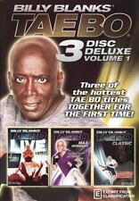 Billy Blanks: Tae Bo 3 Disc Deluxe Volume 1  - DVD - NEW Region 4