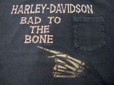 Clare's Harley-Davidson Niagara Falls Ontario Canada Men's L Black Pocket T