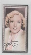 1936 Godfrey Phillips Stars of the Screen Tobacco Base 11 Marion Davies Card a8x