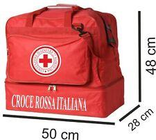 Borsone personalizzato con stampa Croce Rossa Italiana Rosso