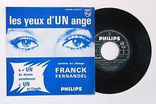 45t FRANCK FERNANDEL les yeux d'un ange POCHETTE ENCART CARTON RARE