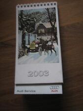 Audi Kalender , Tischkalender 2003