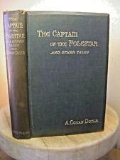 ARTHUR CONAN DOYLE, Captain of the Polestar, UK 1890, BEAUTIFUL FIRST EDITION