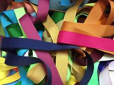 28 yds 7/8 inch grosgrain ribbon 1 yard of 28 colors Lot all solid  Lot 6b