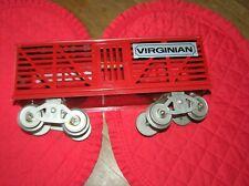 McCoy Standard Gauge Red Virginian Stock Car