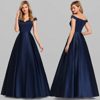 Ever-Pretty Off-Shoulder Evening Dresses Long A-line Formal Party Dress 07934