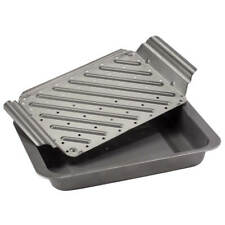 Low Fat Roasting Pan with Rack
