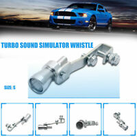 S Turbo Exhaust Whistler Sifflet Bruit Voiture Dump Valve Simulateur Échappement