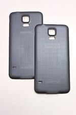 LOT of 2PC OEM Battery Door Cover BLACK for Samsung Galaxy S5