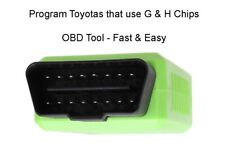 Toyota G & H Chip key programmer Fast and easy Top Quality USA Seller