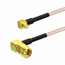 Eightwood RG316 SMP Buchse to SMA Stecker Koax Koaxial Verlängerung Kabel 30CM