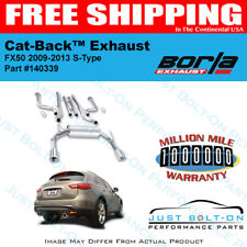 Borla S-Type Catback Exhaust for 09-13 Infiniti FX50 5.0L AWD 140339