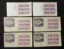 1934 Mount Rainier National Park VG/VG+ Atlantic City NJ Stamp Plate 21303 LOT